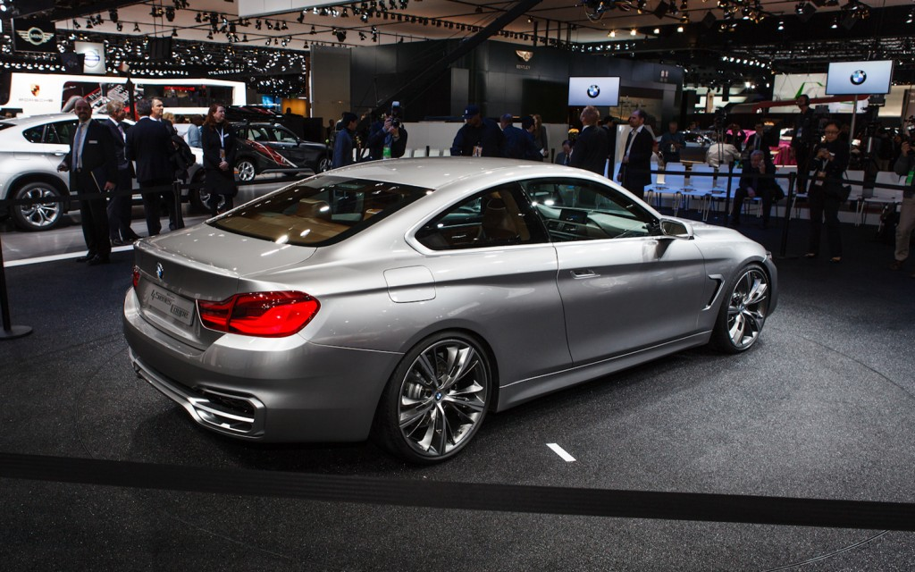 2014 Bmw 4 Series Coupe Concept Rear Right Side View 1024