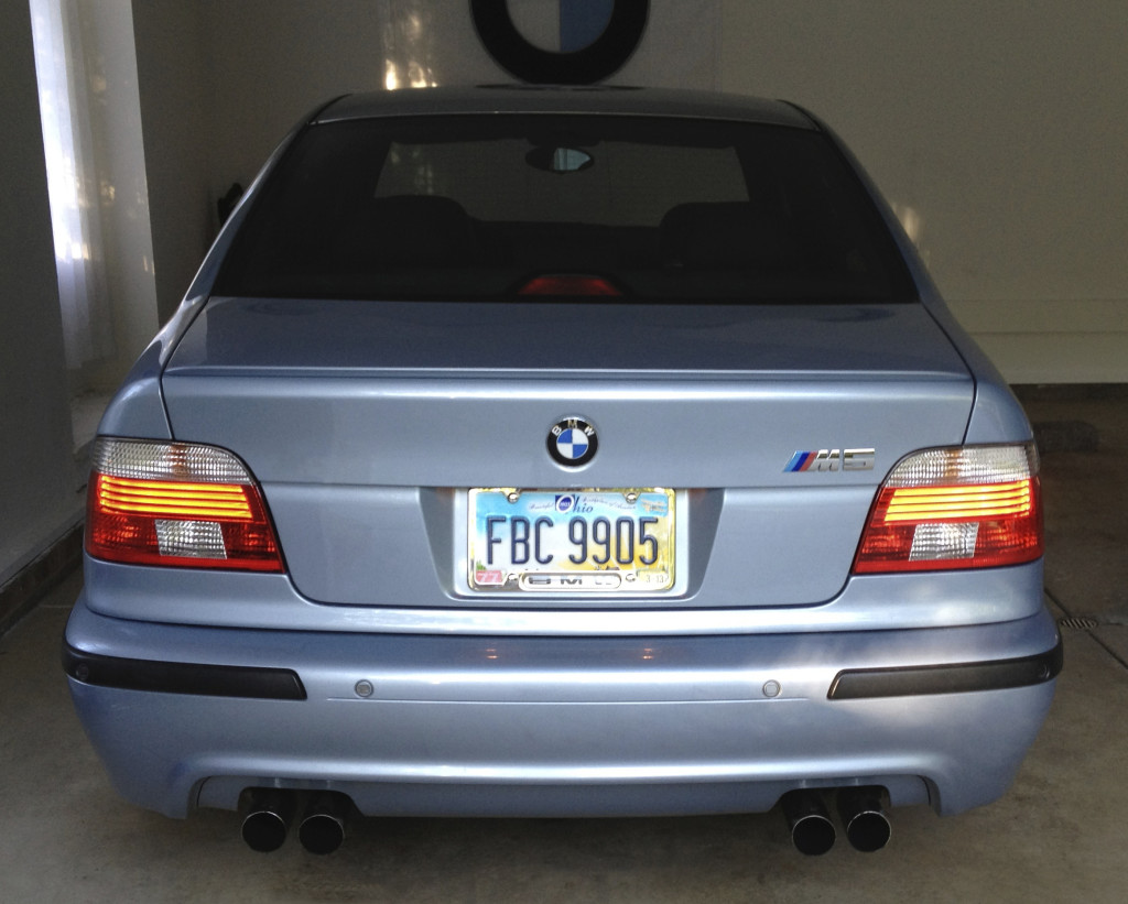E39 Touring Tail Lights
