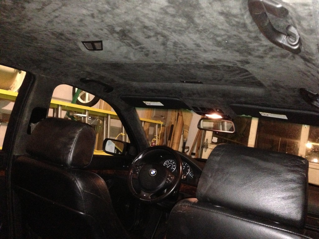 Bmw E39 Headliner Replacement Diy Bmw E39source