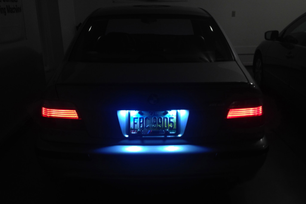 Bmw E39 E38 E46 Led License Plate Lights Bmw E39source