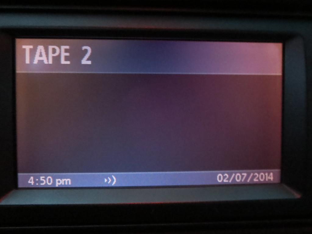 BMW E39 режим ленты на радио