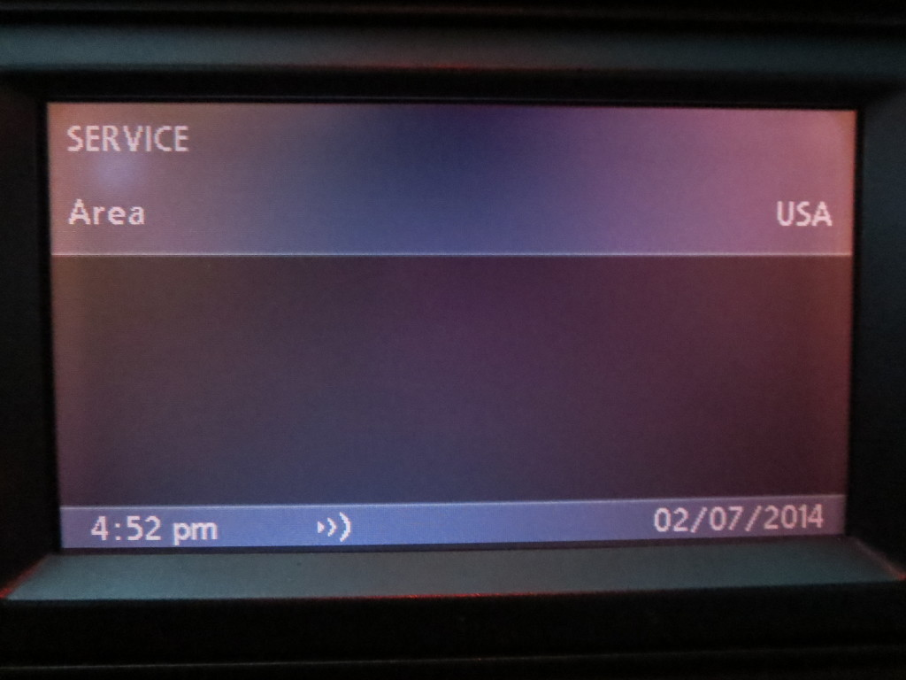 Меню радиосервиса BMW bm53