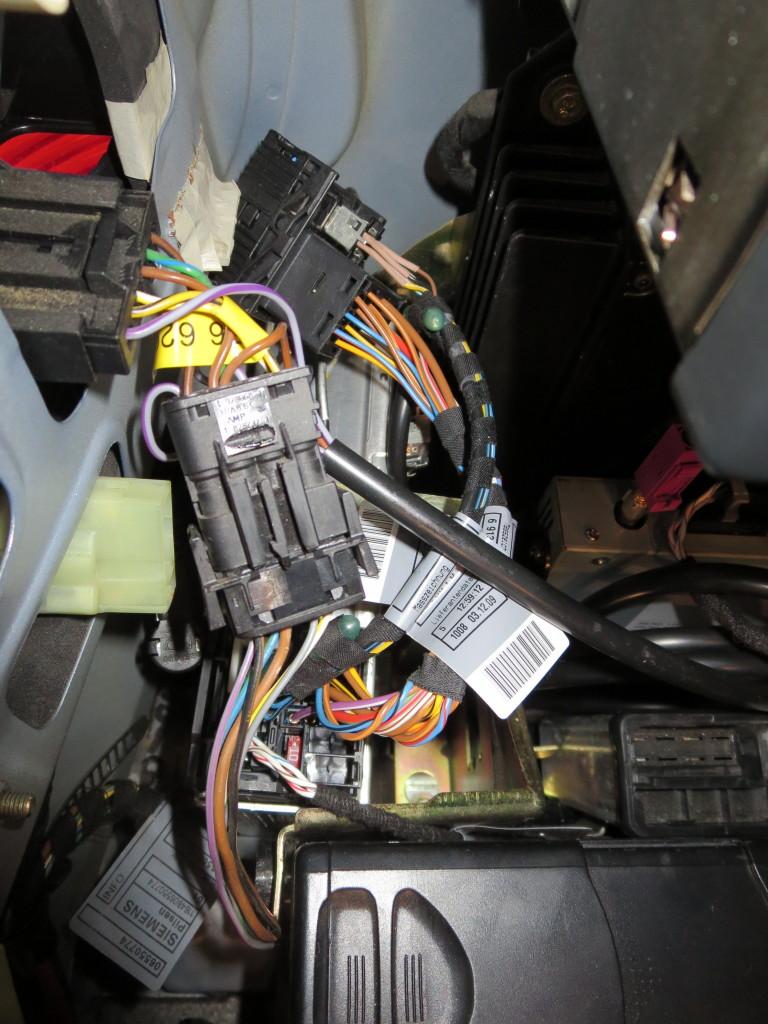 Кабели радиоадаптера BMW E39 c43 к bm53
