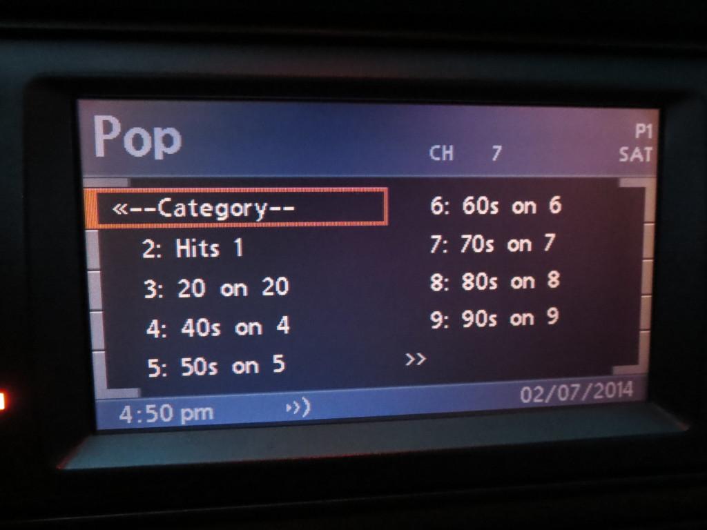 BMWBMW E39 sirius xm список каналов