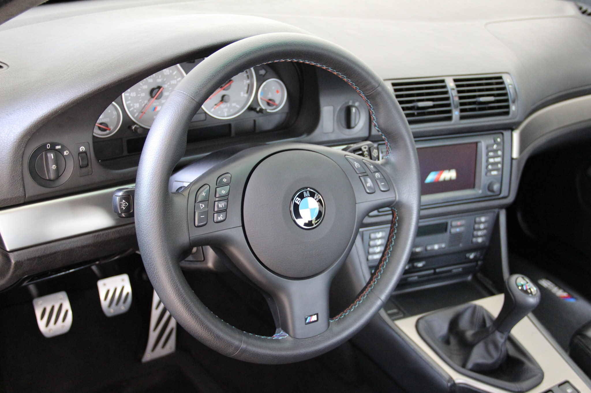 Bmw E39 European Style Lower Dashboard Vinyl Black