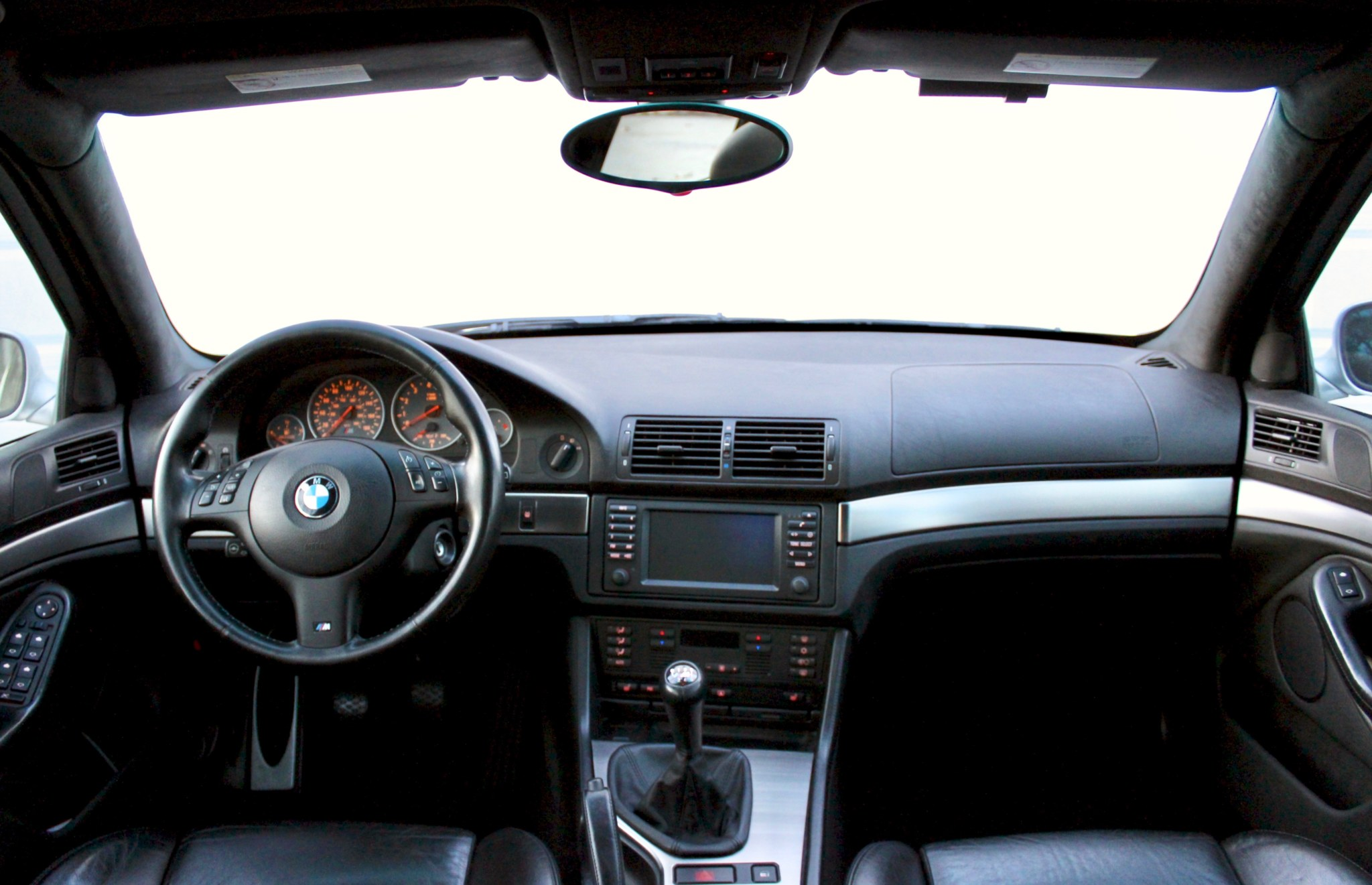 Bmw E39 European Style Dashboard Vinyl Black Bmw